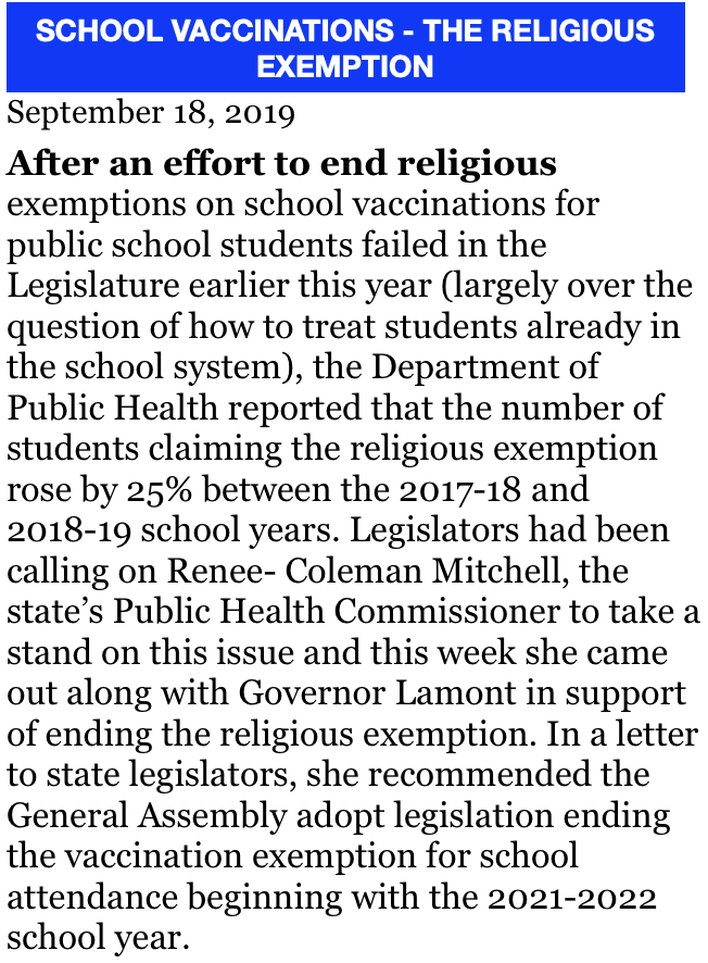 item #5,  09-18-19 SCHOOL VACCINATIONS - THE RELIGIOUS EXEMPTION screenshot.png