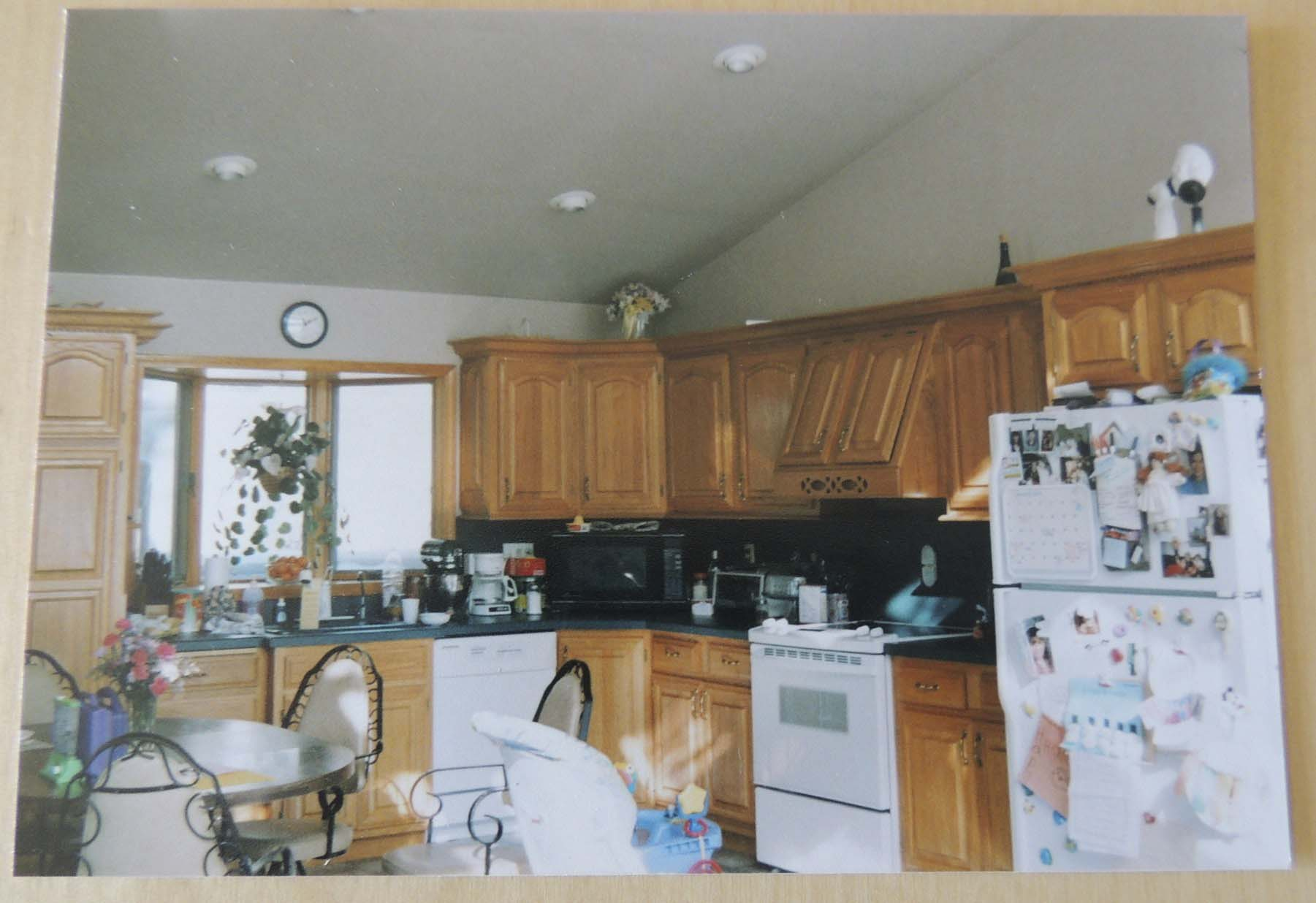 The kitchen in March 2000, under previous ownership.
