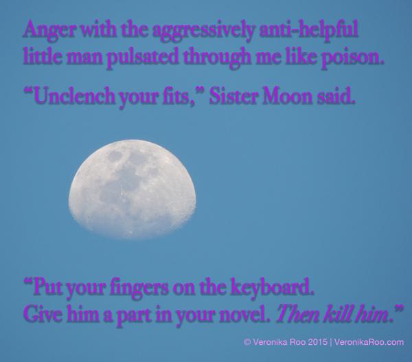 Writer's revenge.