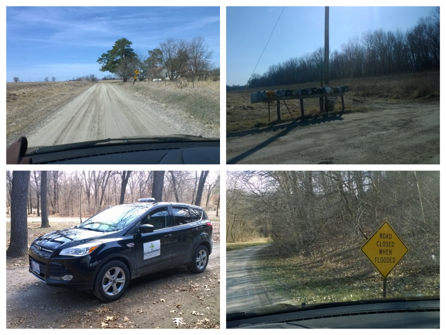 Pictures from around Henderson County during our 911 addressing data collection phase.