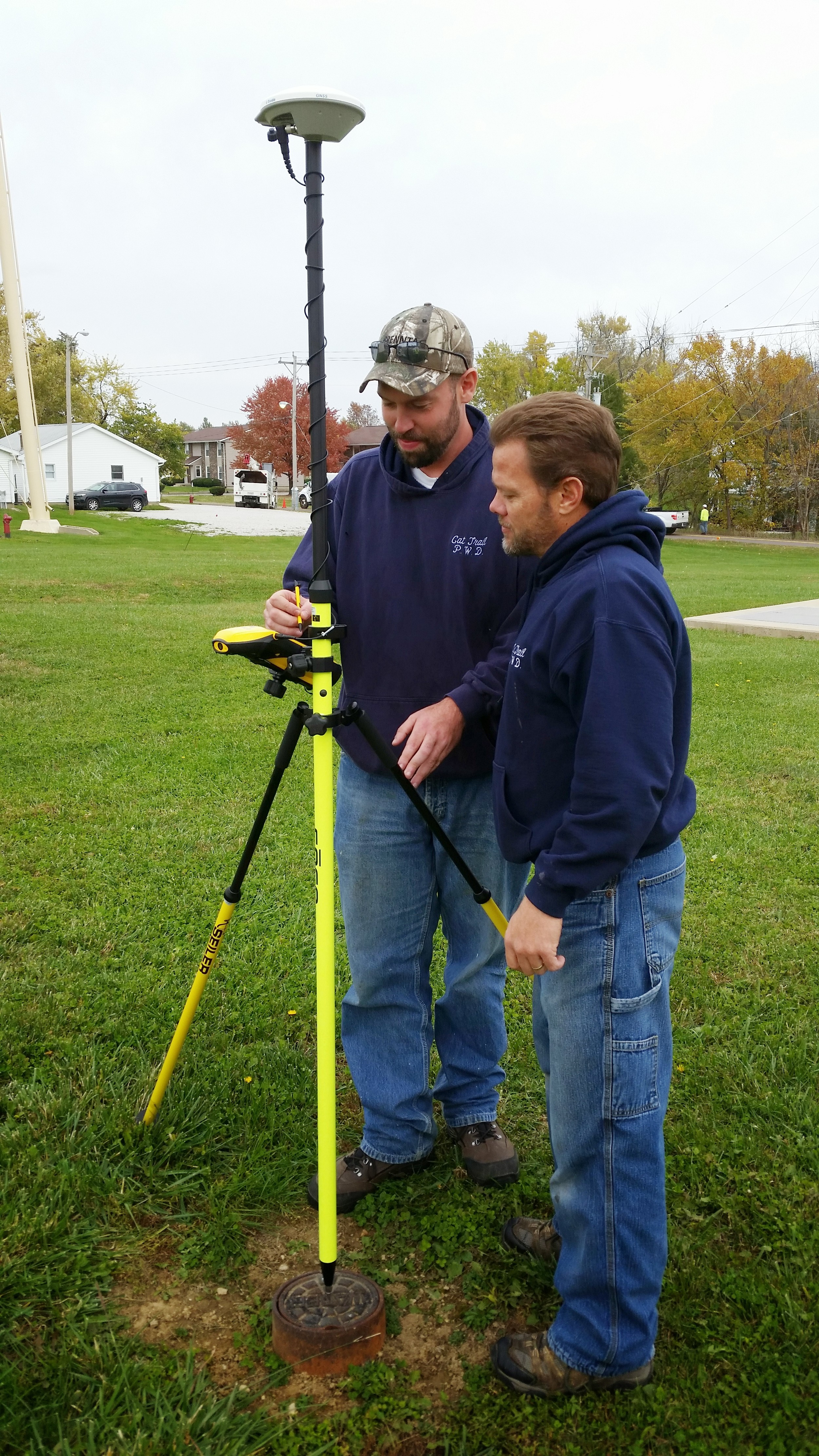 By havingn long time staff members update infrastructure mapping with precise GPS units, an organization can ensure their employees work is documented for future generations.