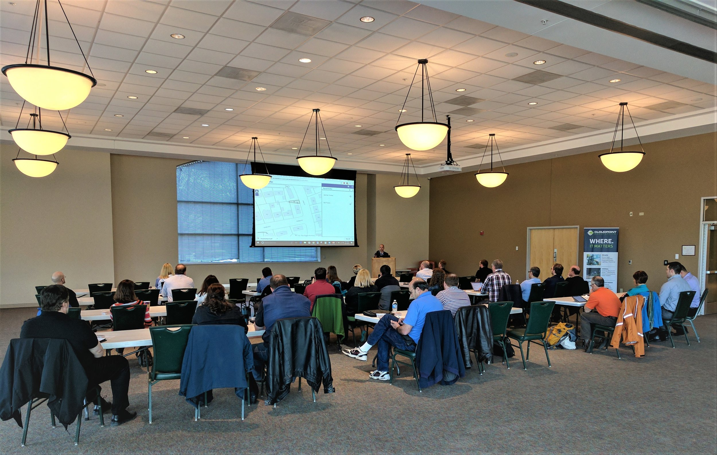 This past Friday, April 21st was another installment of our ArcGIS for Local Government Solutions Showcase in Elgin, IL. Thanks to all our participants and speakers who sacrificed a glorious day outside to talk GIS with us. Here are a few links and explanations to the topics that were covered.