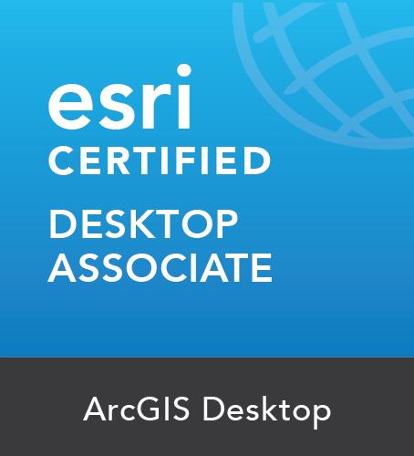 ArcGIS Desktop Associate Certificate