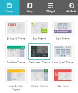 New Dashboard Theme available for Web AppBuilder Source: ESRI