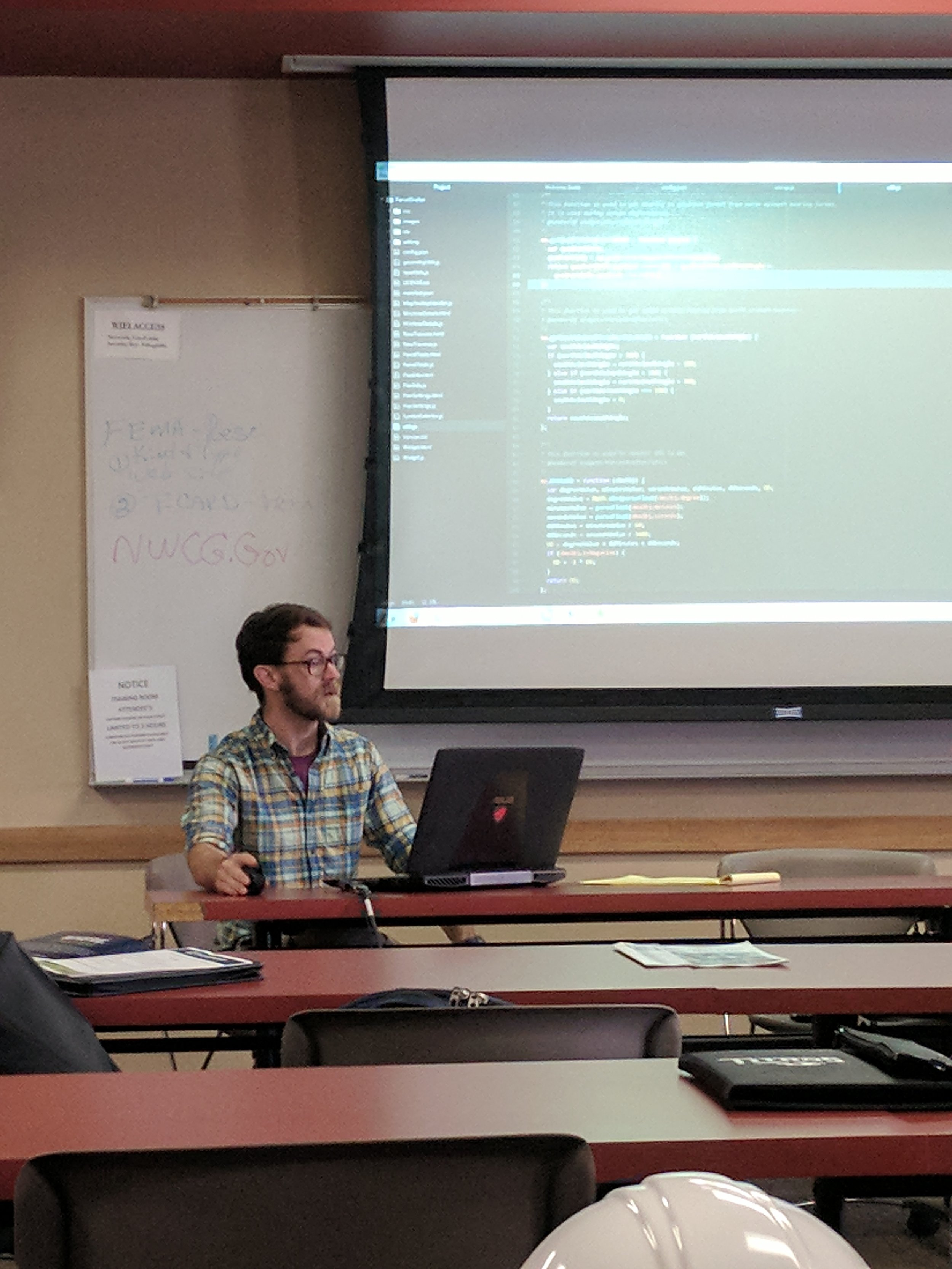 Chris Colney from Grant County, WI outlines the process of creating Esri web applications from templates, and how it helps him in his position as a GIS Specialist