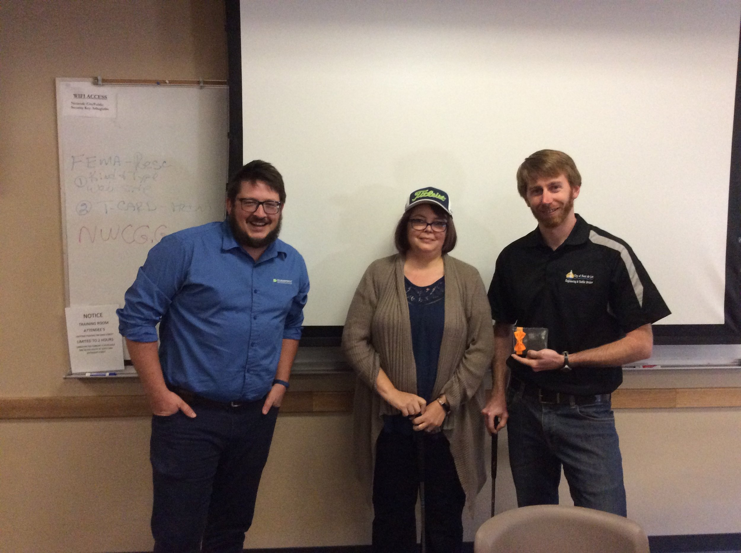 Congratulations to Chad Churchill who was our office golf champion and winner of an Amazon gift card! Jennifer Borlick came in second place and won a new Cloudpoint Titleist golf hat!