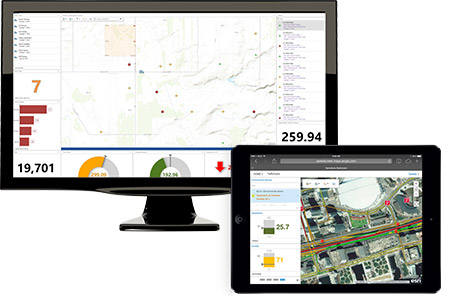 Here you can see samples of the Operations Dashboard