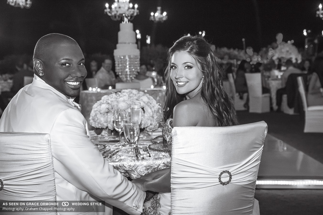 Grace Ormonde Wedding Style Magazine - Ryan Howard, first baseman Philadelphia Phillies and former Philadelphia Eagles Cheerleader, Krystle Campbell