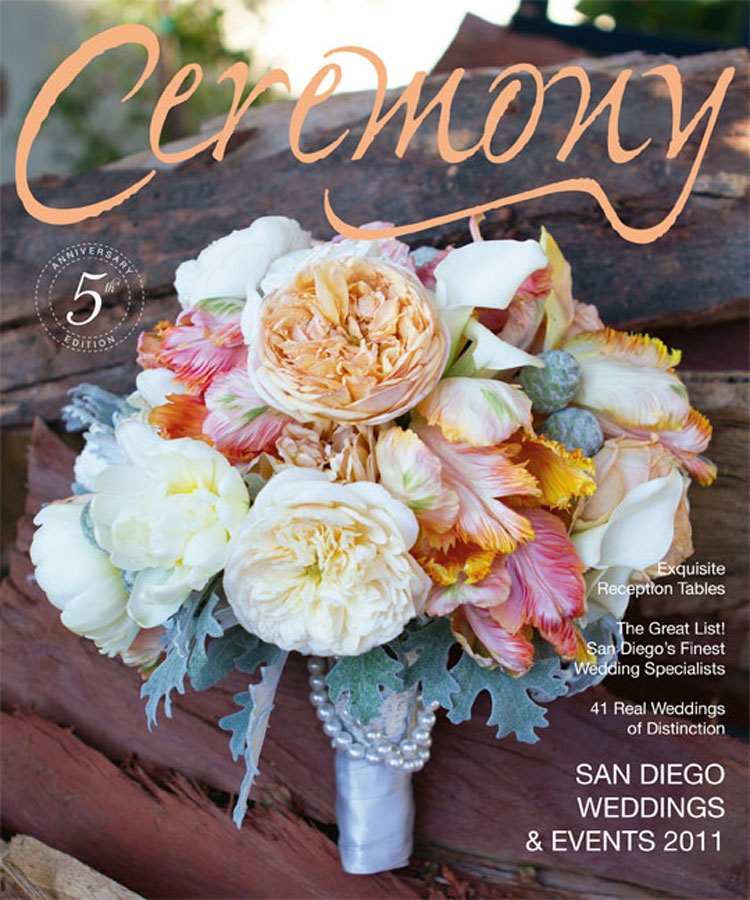 Ceremony Magazine Orange County 2013