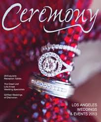 Ceremony Magazine Los Angeles 2013