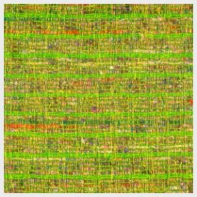 "Citron Raw Silk Metallic Weave  90"" Square $35"