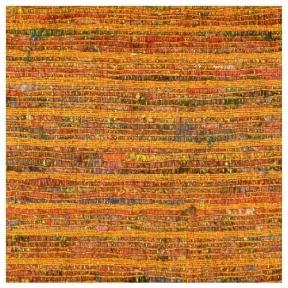 """Saffron Raw Silk Metallic Weave  90"""" Square $35"""