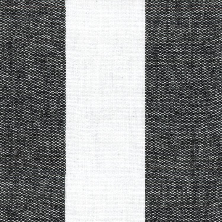 "Sarona Stripe/Domino NEW  132""R, King Drape $89"