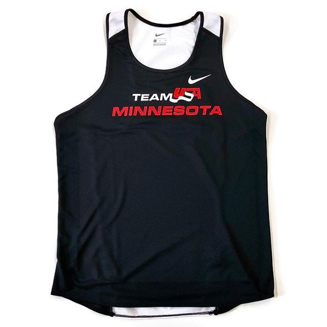 Team USA Minnesota gear in the works. If it's an @jasonlehmkuhle logo design, does that make it retro? I think so. @teamusamn #teamusamn #teamusa #mntrack #mnrunning #jasonlehmkuhle #usatf