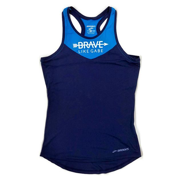 Working on getting this awesome Brave Like Gabe apparel up on their online store! Stay tuned for an update from @bravelikegabe when it's officially open for orders! #bravelikegabe #brooksrunning #runbrave