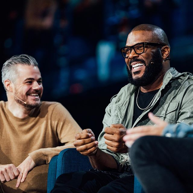 Conversations with Tyler Perry and Scott Harrison