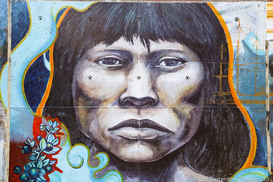 Street art, Ushuaia, Argentina