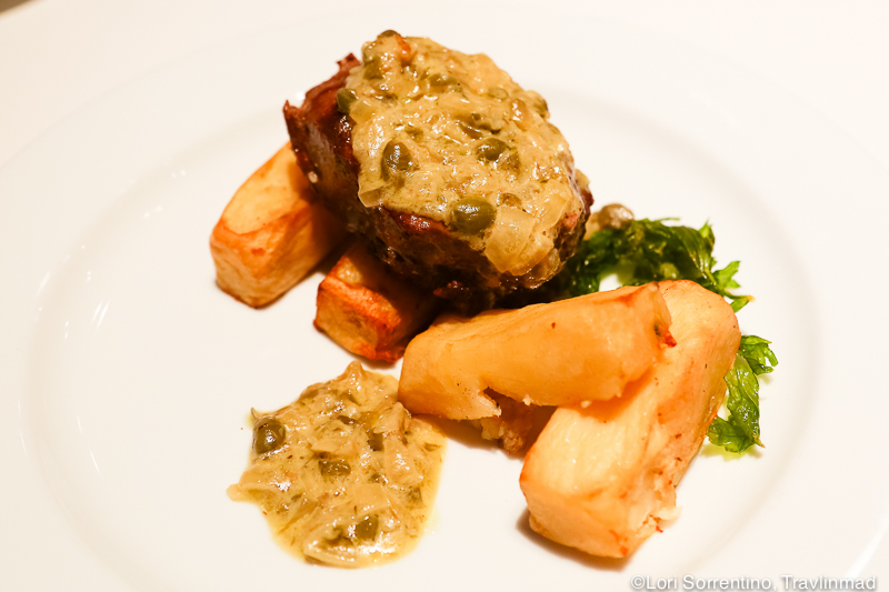 Beef entree