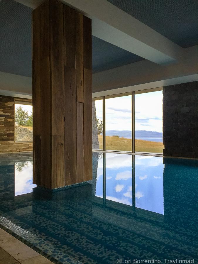 Indoor pool, Arakur, Ushuaia