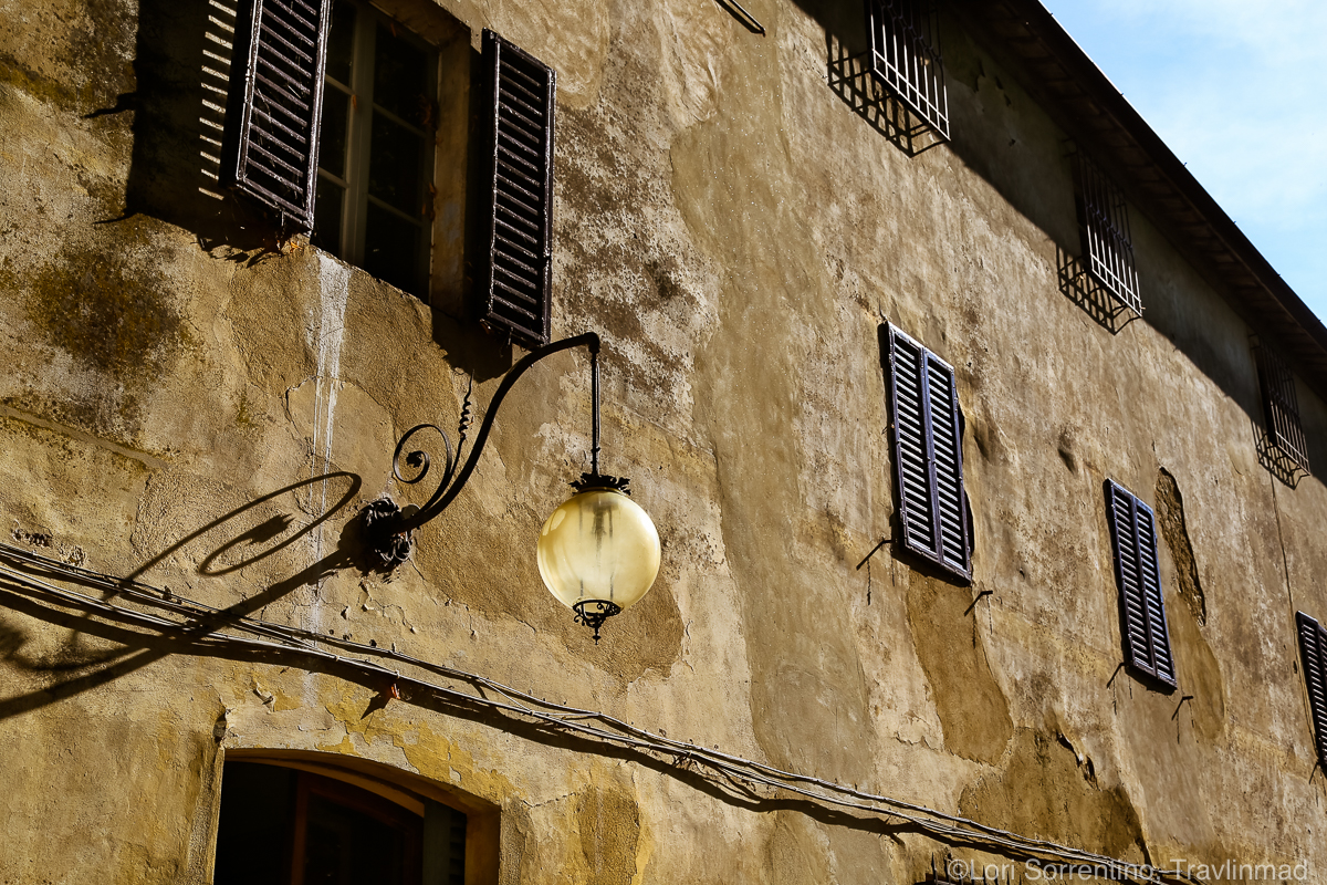 Pacina Winery was a former Etruscan convent, Chianti Colli Senesi, Tuscany