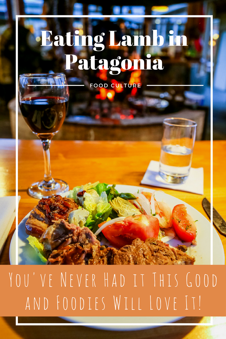 eat lamb in Patagonia