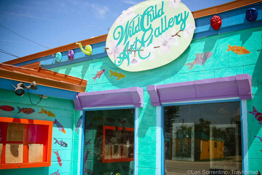 Wild Child Gallery, Matlacha island, Florida
