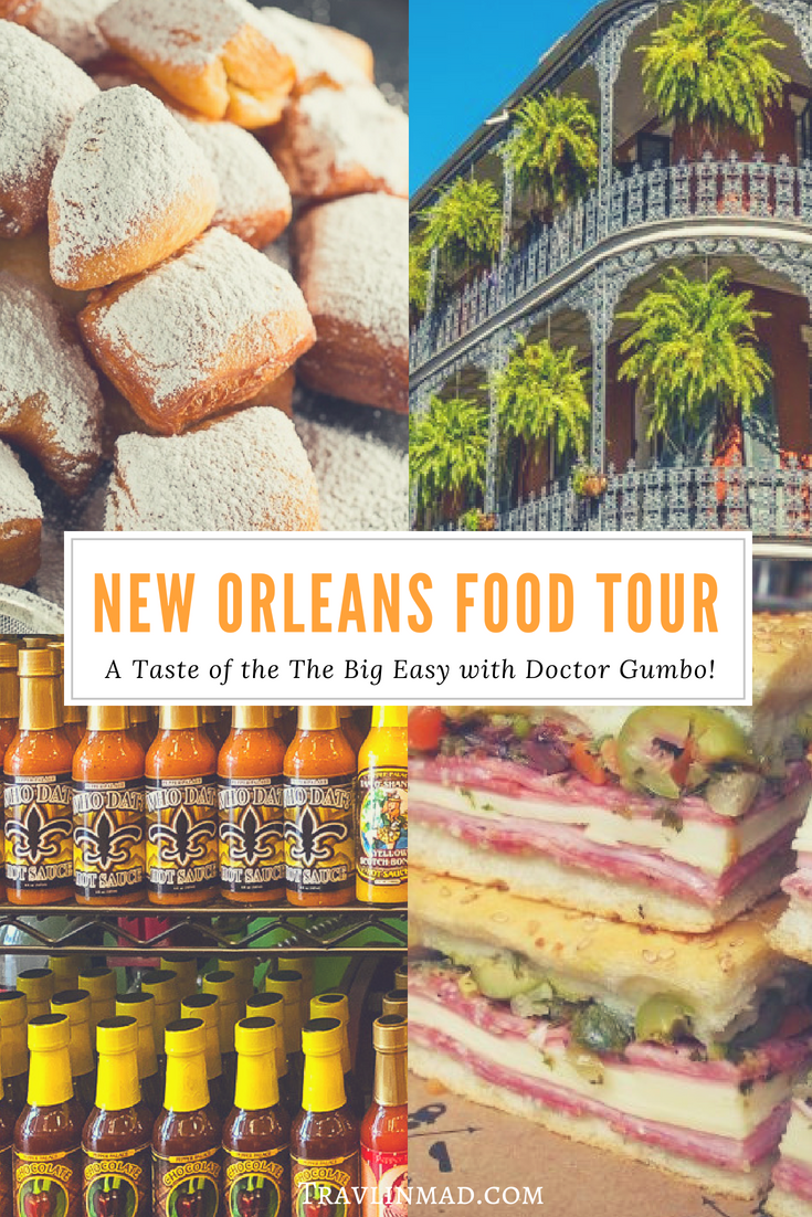 Sample the foods of The Big Easy on a New Orleans food tour of the French Quarter. The Doctor Gumbo Food History Tour is the perfect way to eat your way through #New Orleans, Louisiana. #foodtour