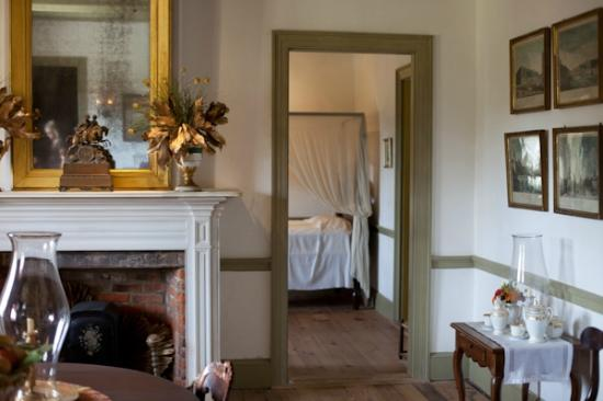 Rooms in the mansion at Laura Plantation, Louisiana
