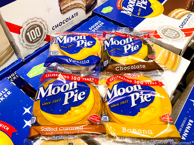 Moon Pies in Mobile, Alabama