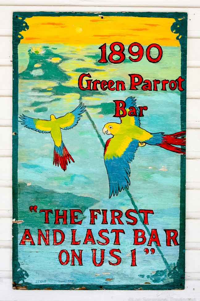 The Green Parrot Bar, Key West, Florida