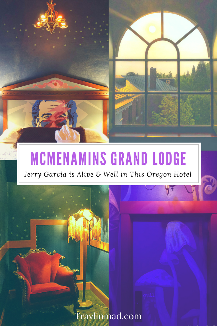 McMenamins Forest Grove is like a dream, a quirky hotel outside Portland, Oregon that's completely unique and perfect for a family stay. One of the best hotels in the US. #McMenamins #GrandLodge