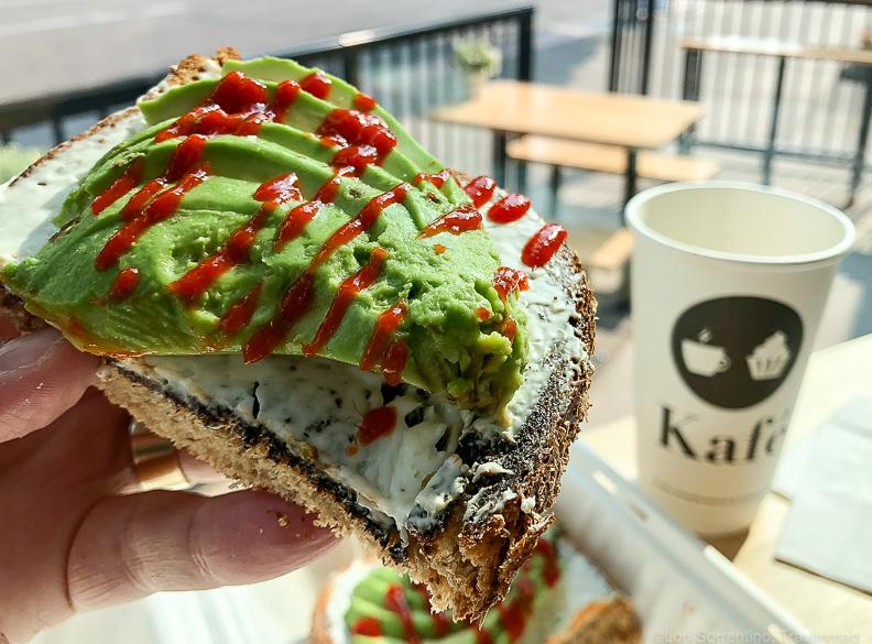Toast Bar goodness at Kafé, Forest Grove, Oregon