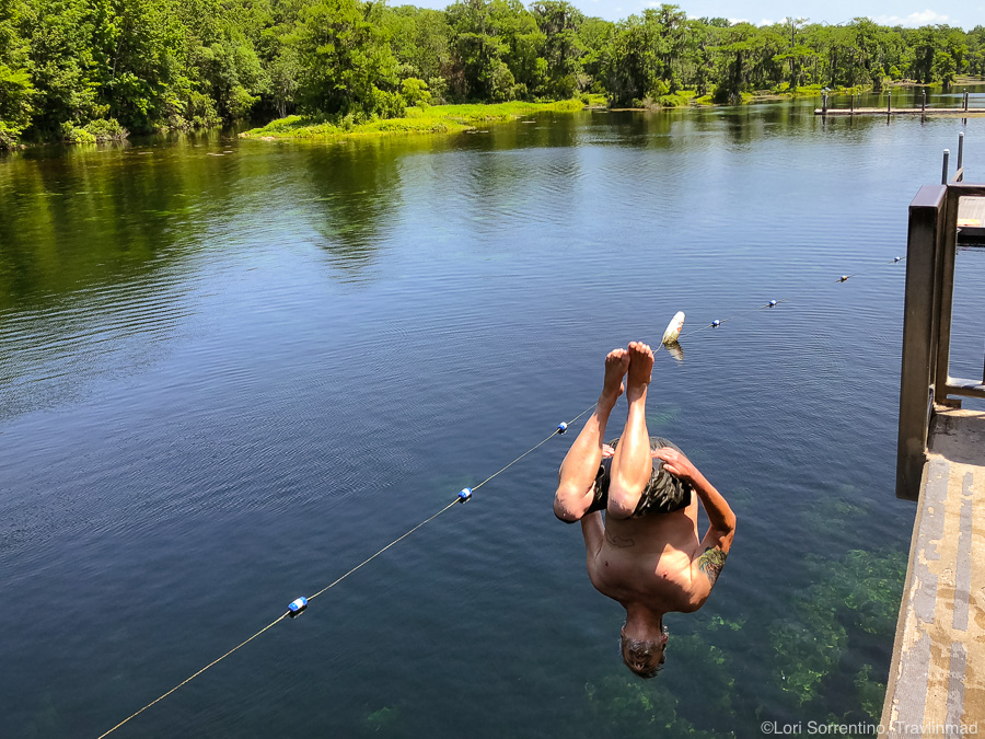 Having fun at Wakulla Springs State Park, Florida