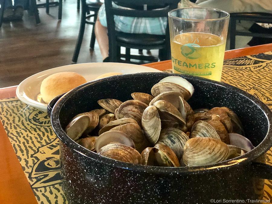 Favorite Cedar Key Food - Fresh Cedar Key clams