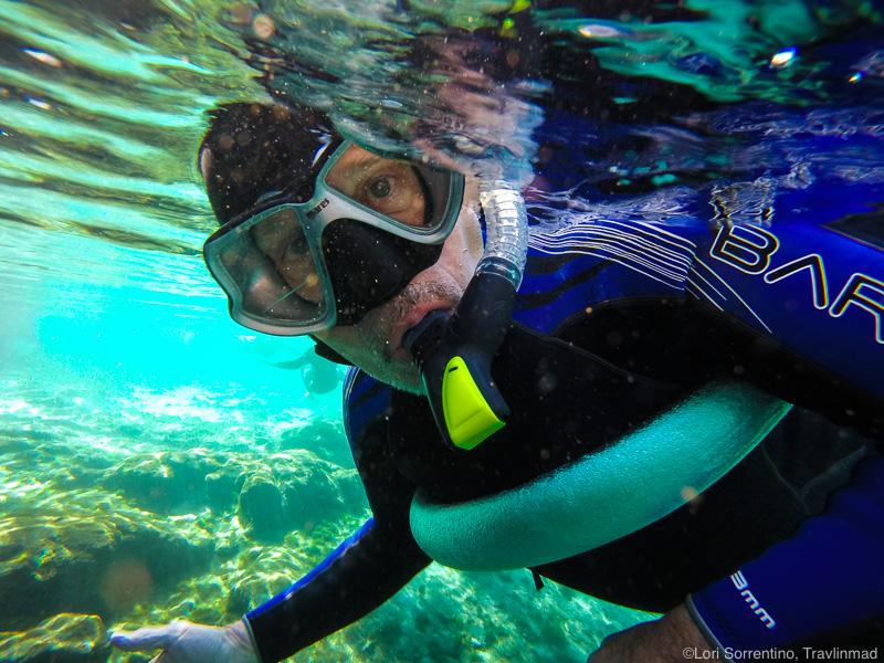 Snorkeling in Three Sisters Springs, Crystal River, Florida