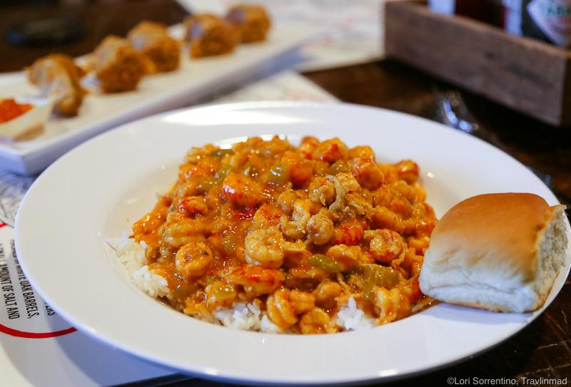 Favorite Lafayette Food - Shrimp and crawfish étouffée