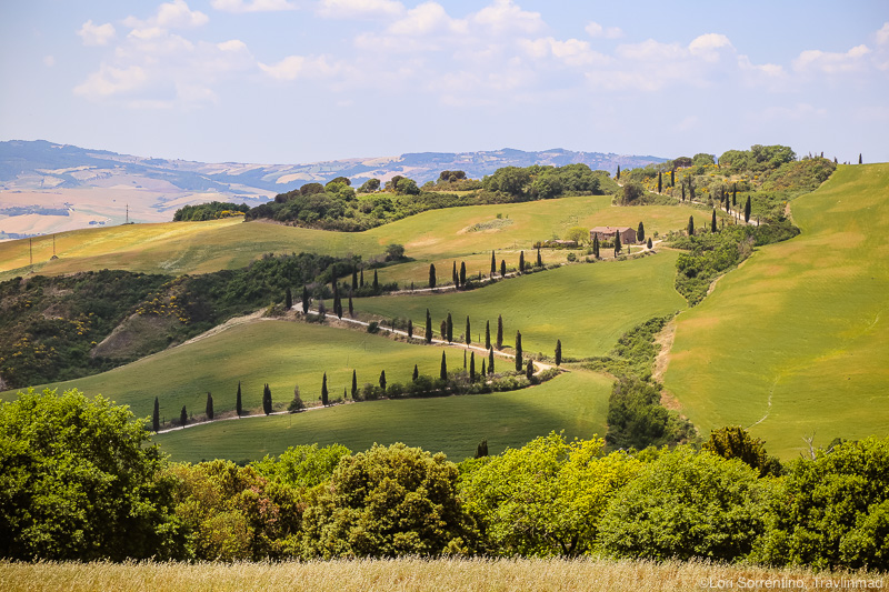 The Strada di Valdoresi , La Foce, Tuscany, Italy, Scenic Drives In Tuscany