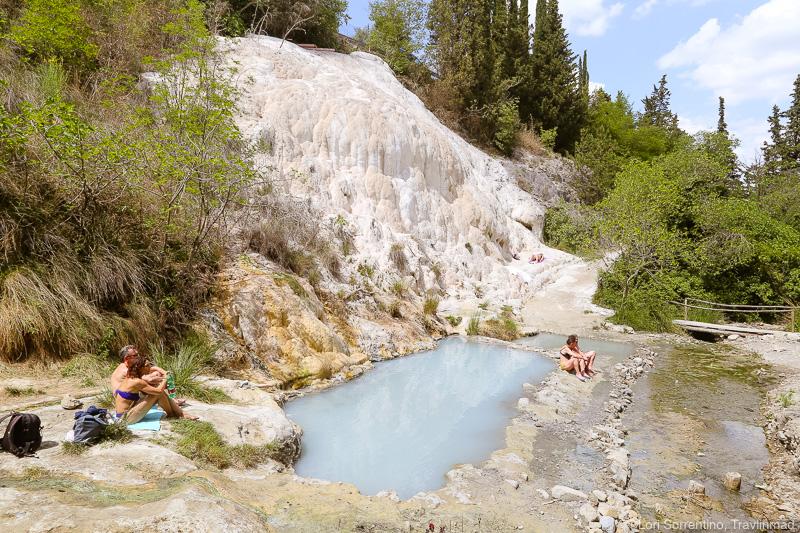 Bagno San Filippo, scenic drives in Tuscany, Italy
