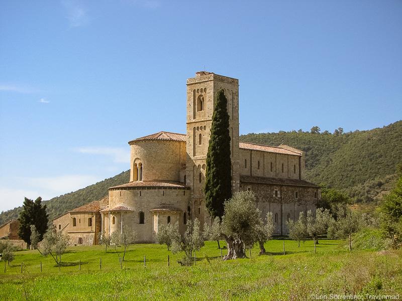 Abbey Sant'Antimo, Montalcino, Tuscany, Italy