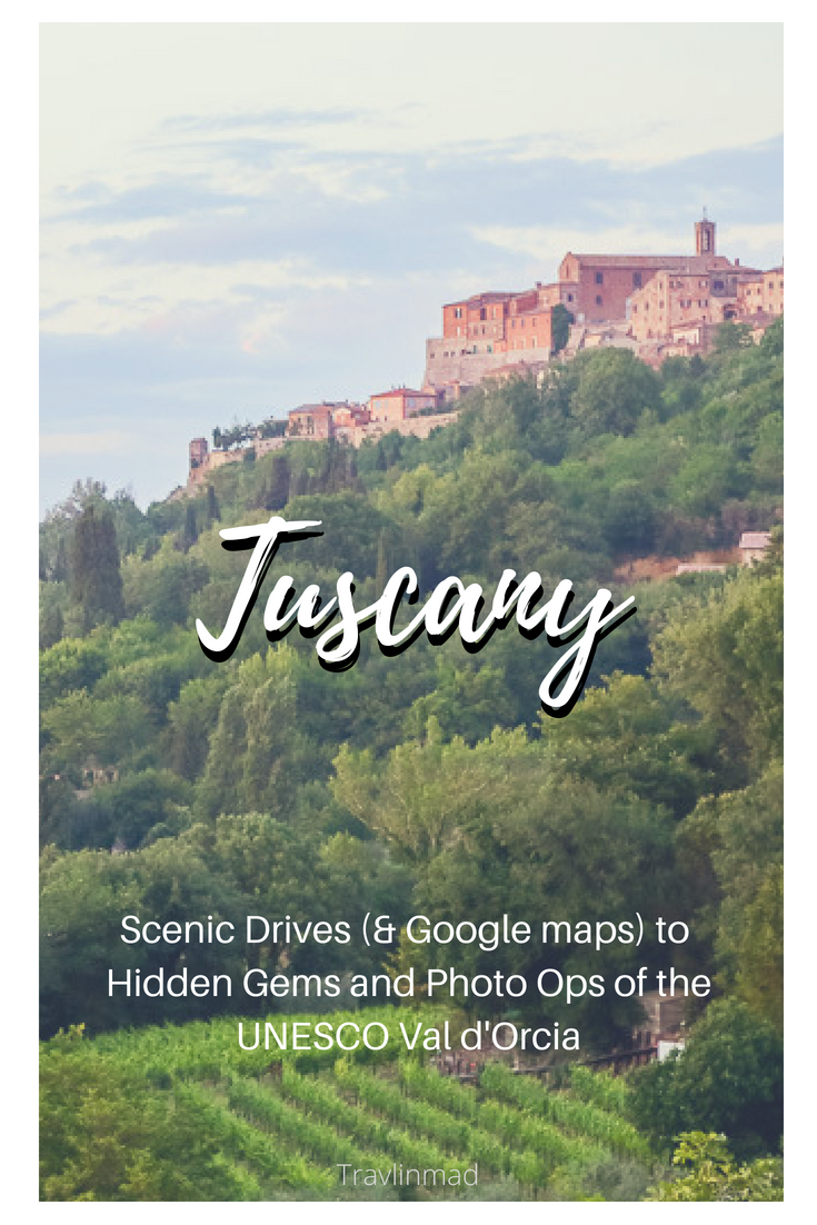 Tuscany road trips, Val d'Orcia, Italy