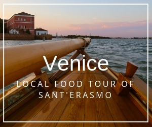 "You can still find authenticity in Venice, Italy - on a unique Venice food tour of the lagoon island of #Santerasmo, the ""Garden of the Doge"". Spend the day with local food and wine producers, and taste the heritage of Venice in the foods grown on the island. It's a perfect slow food experience in Venice Italy! 