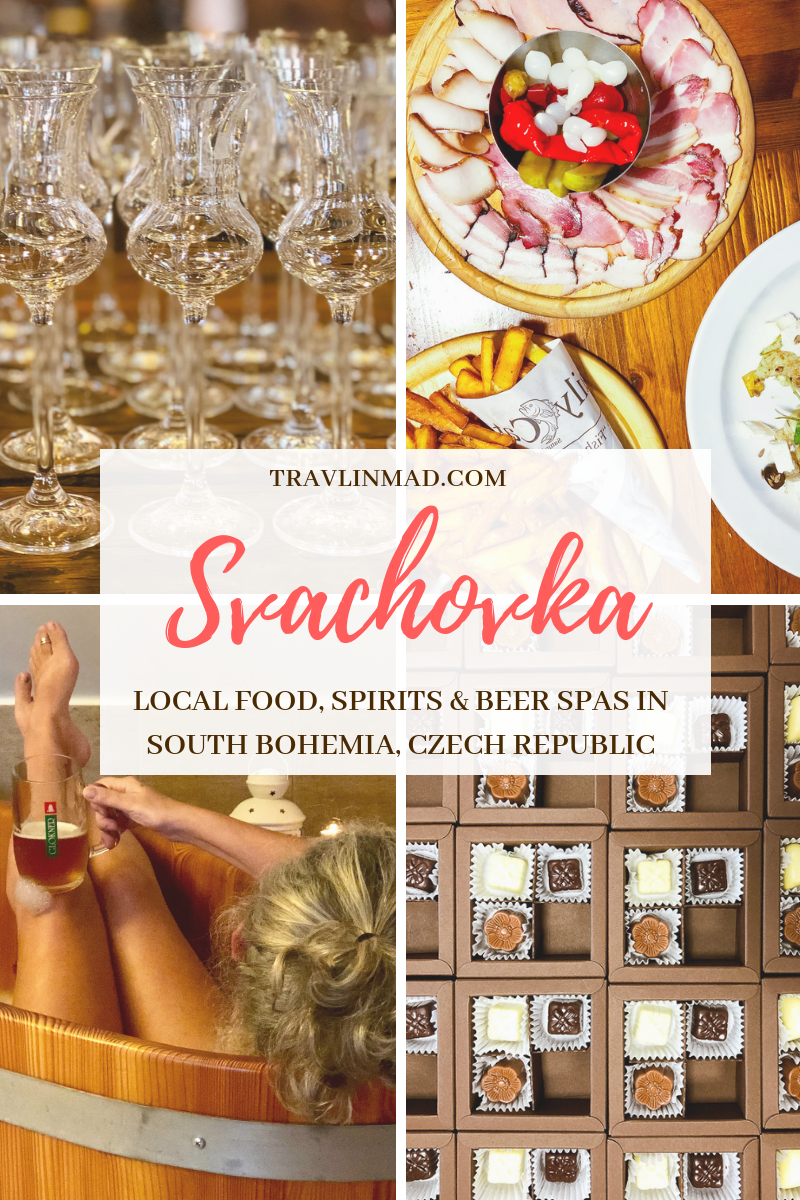 Svachovka, a unique hotel and rural retreat in Cesky Krumlov, South Bohemia, Czech Republic. Local food, distilled spirits, and Glokner Czech beer all made on site.