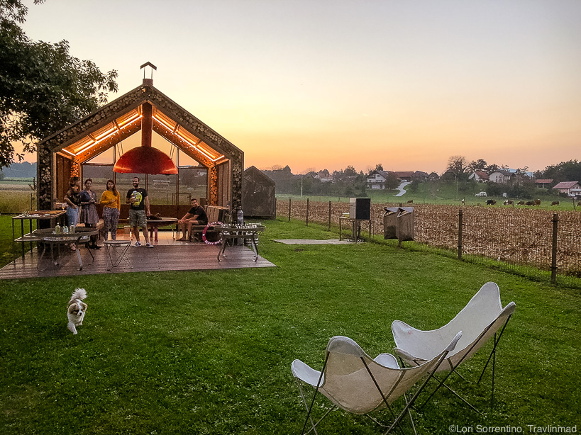 Glamping in Slovenia at Big Berry