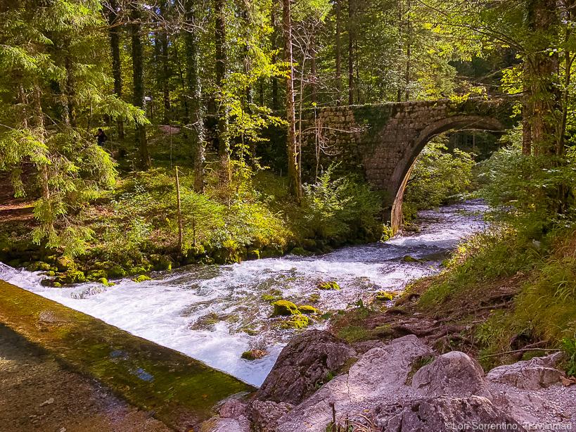 The Kamniška Bistrica River Valley, Slovenia