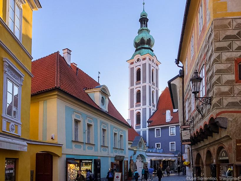 Latrán District of Cesky Krumlov, Czech Republic