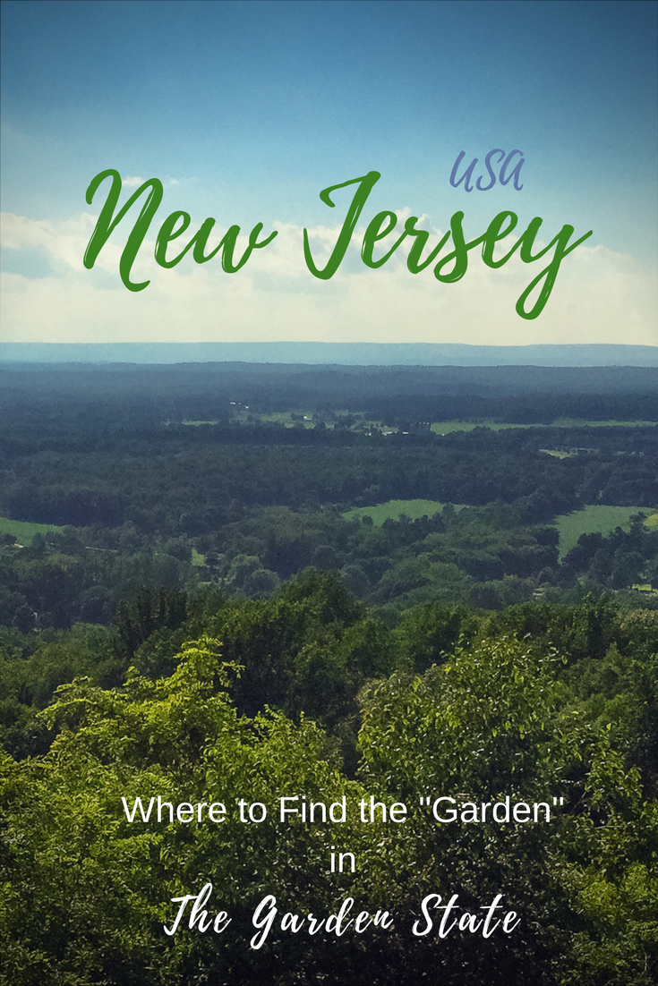 Finding The Garden State of New Jersey