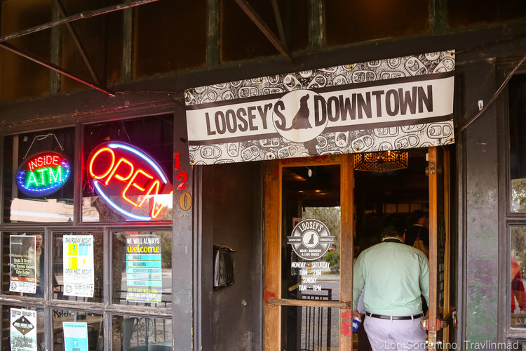 Loosey's, Gainesville Florida on the Gainesville Food Tour
