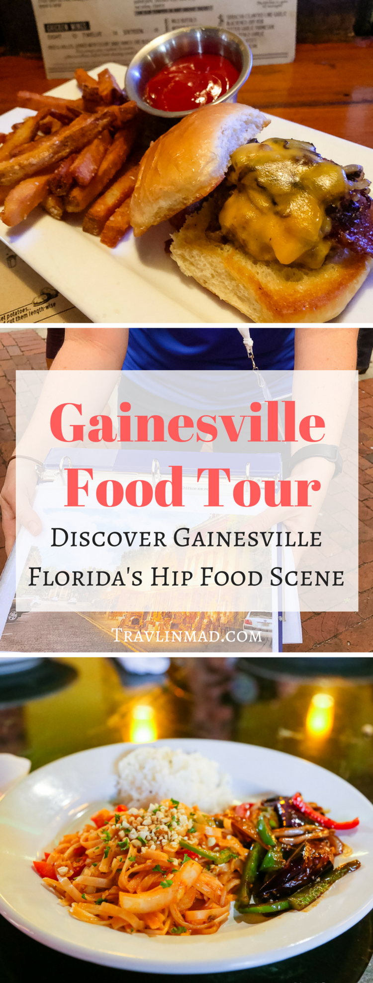 Take the Gainesville Food Tour, a fun 3-hour walking food tour that explores the best foods, history, and local culture in this hip Florida university town!