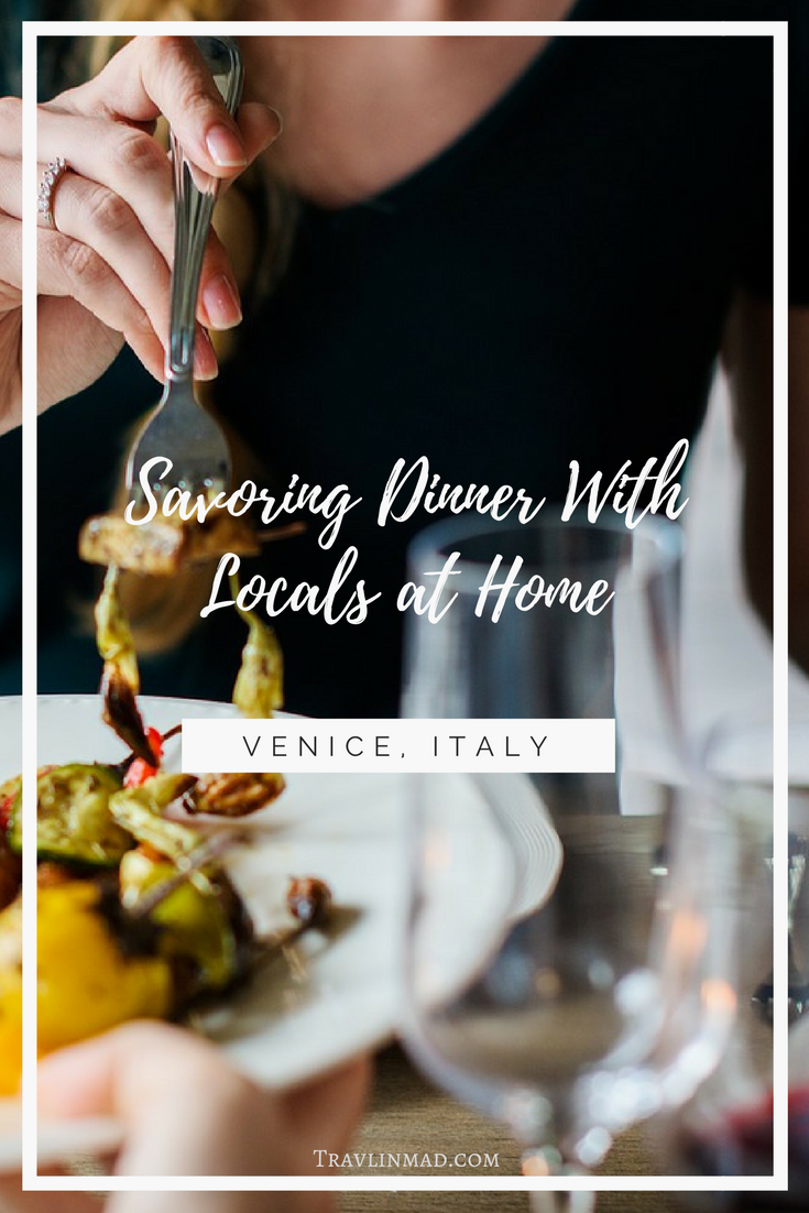 Experience the local food culture in Venice, Italy than by dining with locals at home, enjoying Venetian food specialties prepared by them!