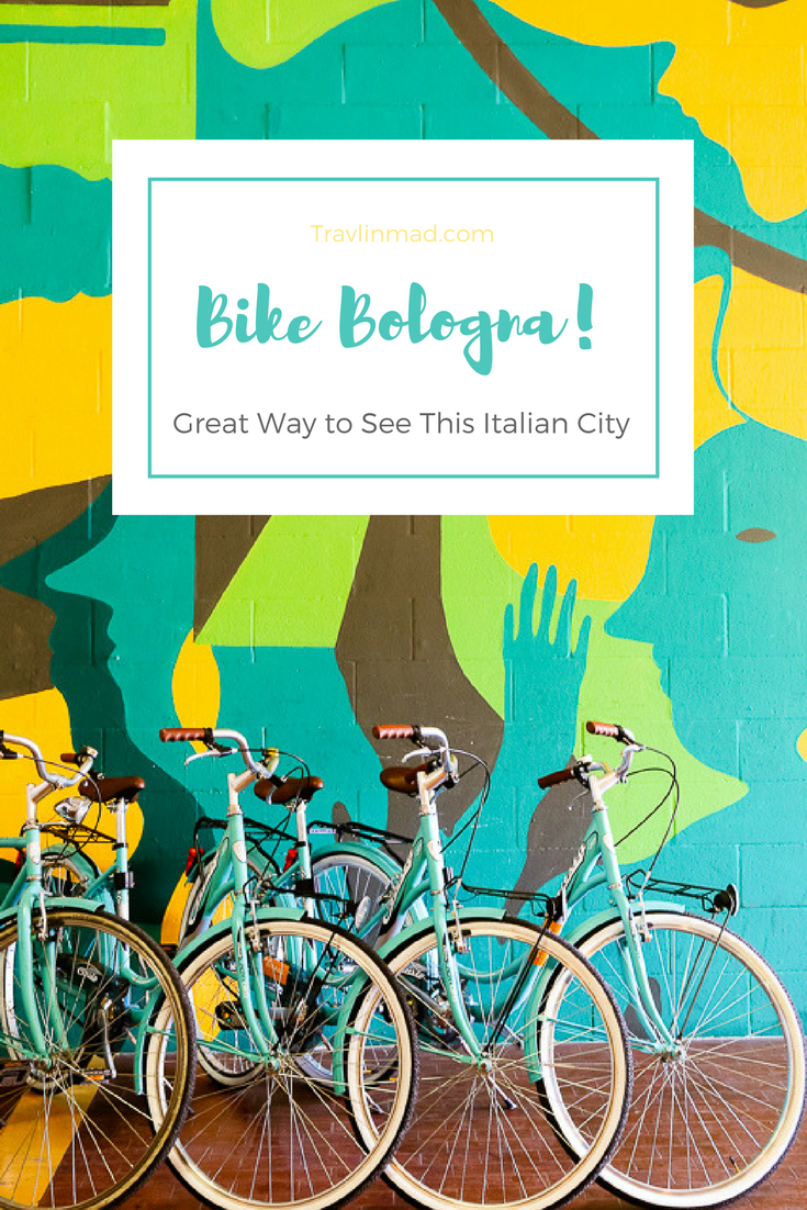 Take a Bologna bike tour to see the historic Italian city in a unique way!